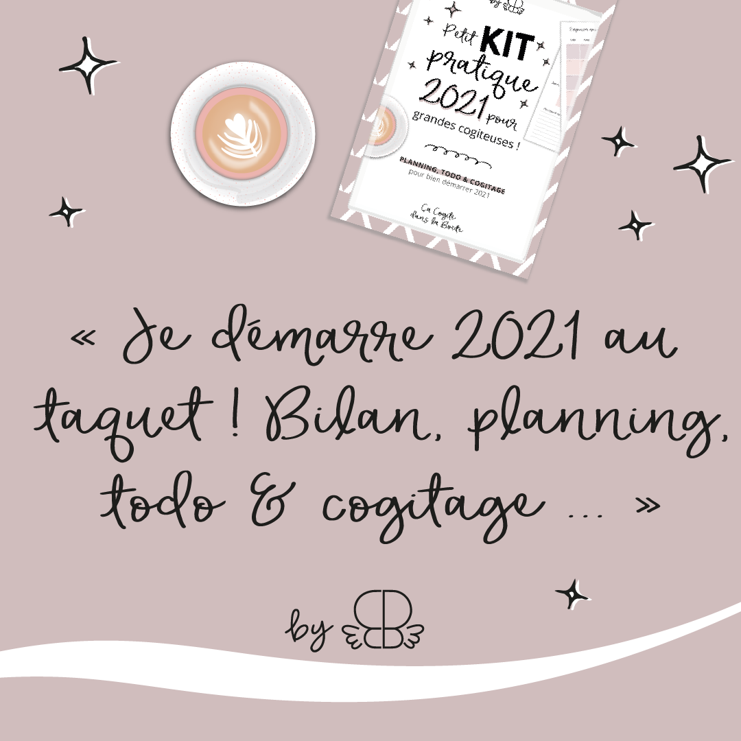 Je démarre 2021 au taquet ! Planning, todo & cogitage…